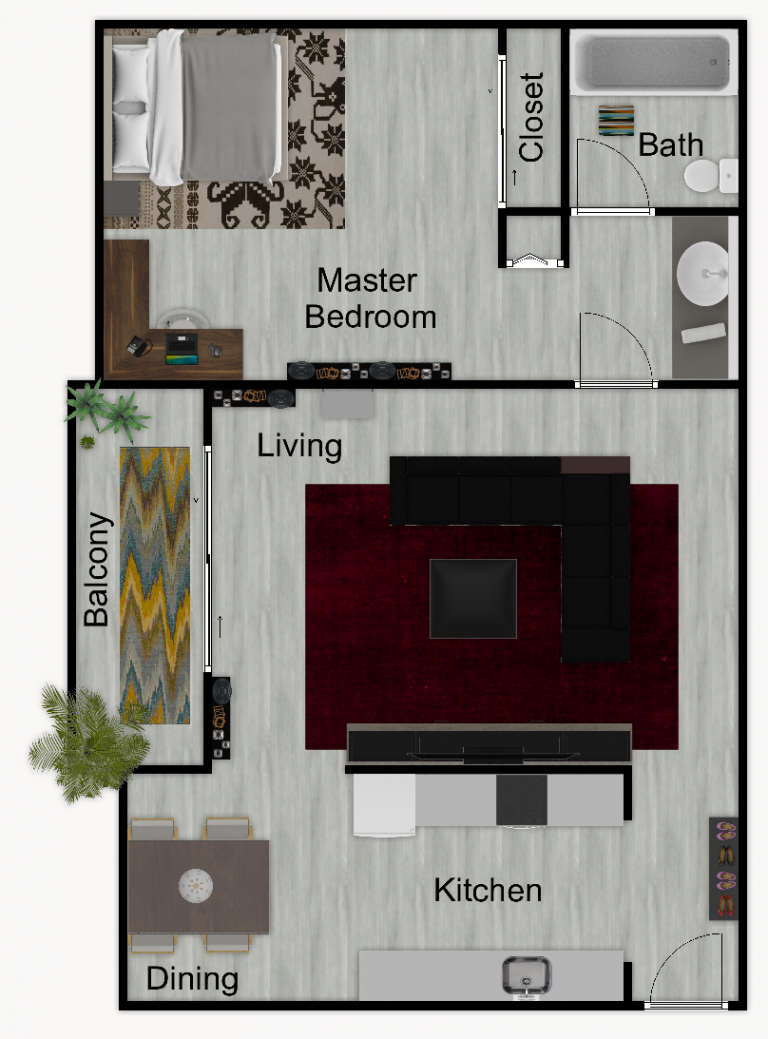 SW floorplanfix furnished
